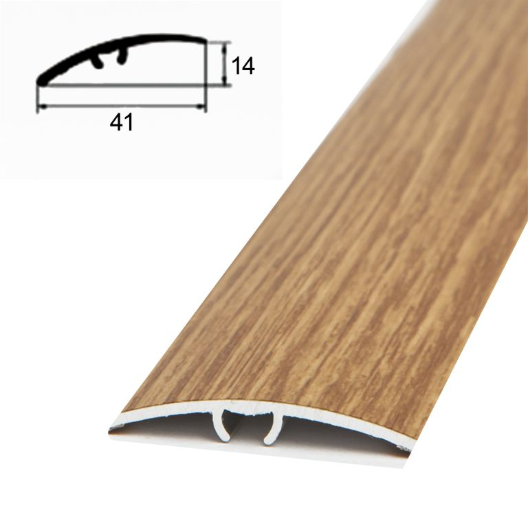 Prag trecere decor stejar inchis cod 5588